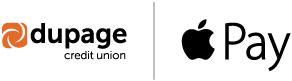 DuPage Credit Union & Apple Pay Logos