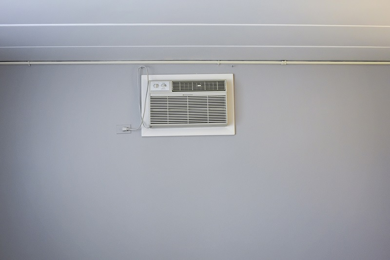 A picture of a very obvious AC unit.
