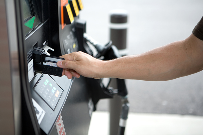 Credit Card Fraud - Using Credit Card at a gasoline pump.