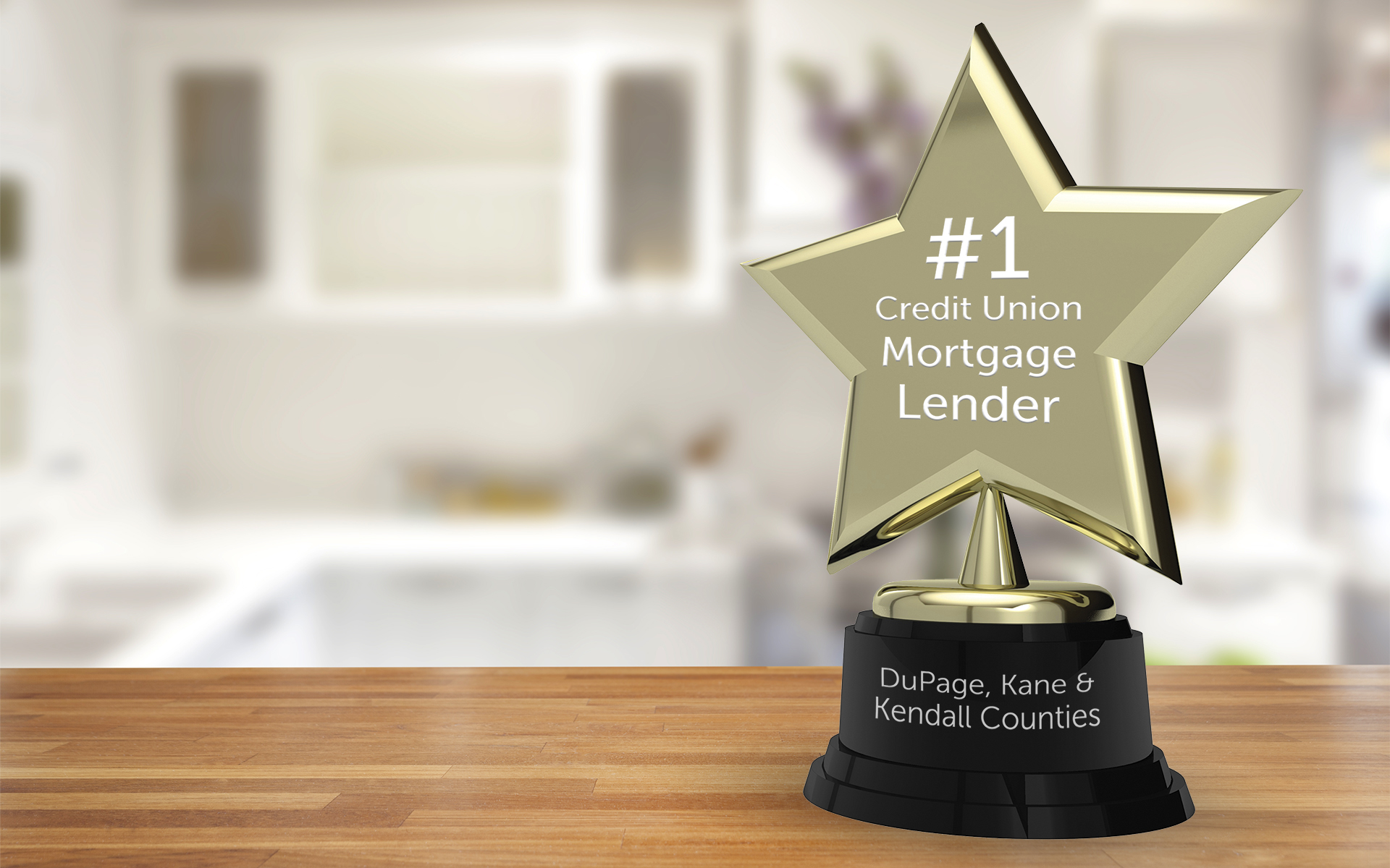 Number one mortgage lender award